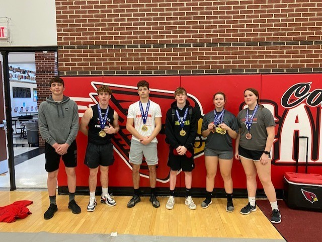 HCHS Competes at State Powerlifting