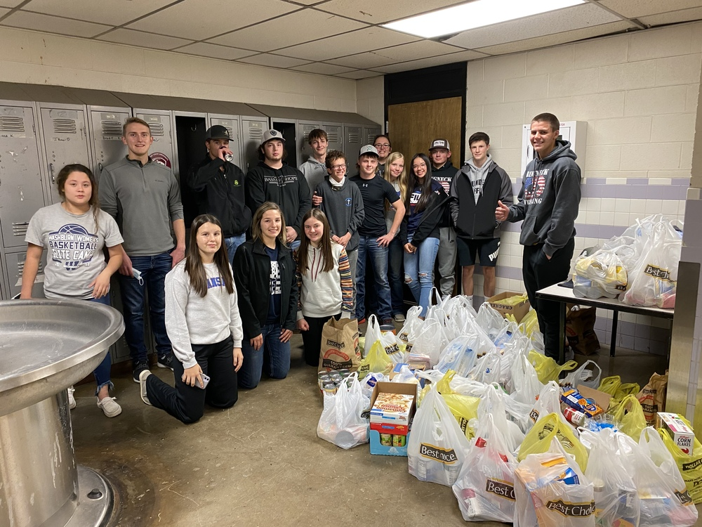 700.8  Pounds of Food Collected